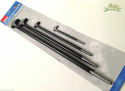 """HILKA 4PC Heel & Toe Pry Bar Set for Aligning Lifting or Prying 6 - 20"""" 37401004"""