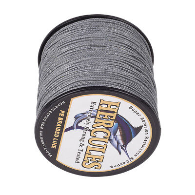 PE Dyneema 100M 300M 500M 1000M 8S&4S Strands Grey Spectra Braided Fishing Line