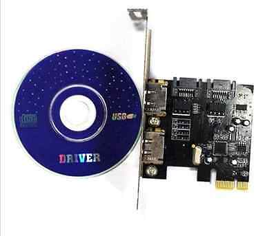 High Performance PCI-E To SATA3.0 Desktop Expansion Card SSD Solid State Disk Un