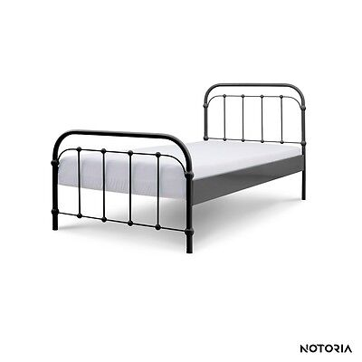 amita eisenbett metallbett t rkis design bett bettgestell. Black Bedroom Furniture Sets. Home Design Ideas