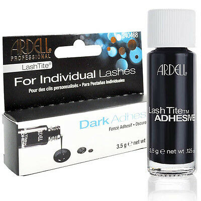 Ardell LashTite Individual False Lash/Cils Adhésif Colle Dark Salon Look