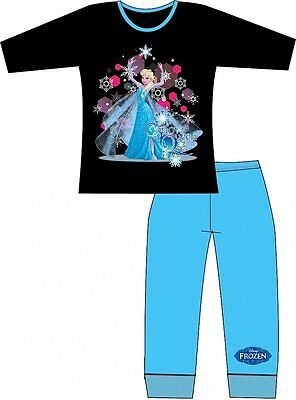 Official Disney Frozen Elsa Snow Queen Girls Cotton Pyjamas 4 5 6 7 8 Years BNWT