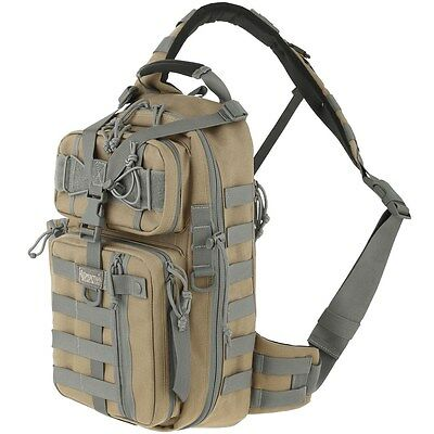 New! Maxpedition Sitka Gearslinger Single Shoulder Backpack Khaki-Foliage 0431KF