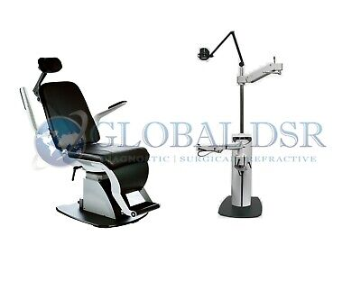 S4OPTIK NEW 1800 Examination Chair w/ 1600 Instrument Stand Complete Exam Lane