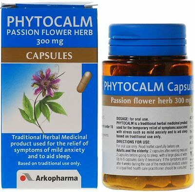 Arkopharma Phytocalm Natural Herbal Sleeping Pill Calm Anxiety Relief Aid Herb