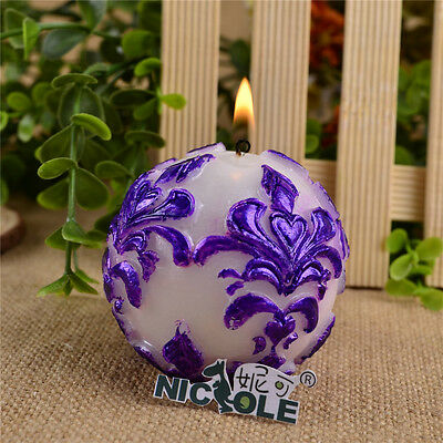Nicole Ball Shape Silicone Candle Soap Mold Resin Craft Clay Candle Making Tools