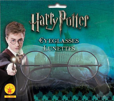 Morris Costumes New Wire Framed Harry Potter Plastic Lenses Glasses. RU7259