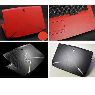 KH Special Laptop Snake crocodile Cow Leather Skin Fit Alienware 2015 NEW M17X