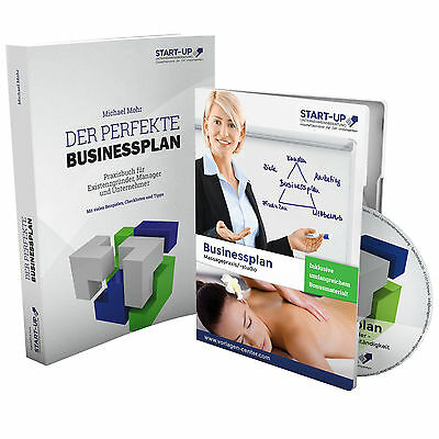 Businessplan Massagepraxis / Massagestudio Existenzgründung