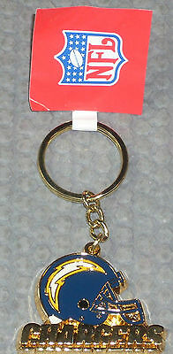 NFL metal key ring chain SAN DIEGO CHARGERS  new keyring american football