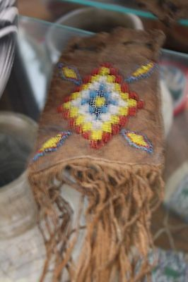 Plains Indians Tobacco Pouch
