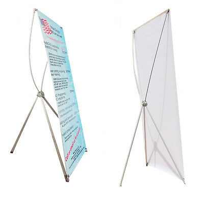 """X Stands for Grommeted Banner Poster Sizes 24""""X63"""" or 32""""X71"""" buy 2 save more"""