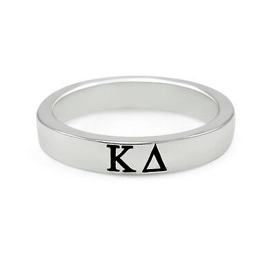 Kappa Delta sterling silver ring with enamel CUTE & NEW!