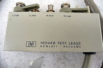 HP 16048B   lead set for use with 4284a etc.