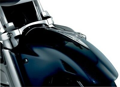 Kuryakyn 7333 Chrome Deco Eagle Front Fender Accent Universal Fit