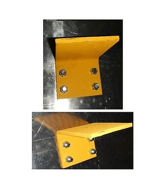"""Replacement Dock Plate 12"""" Legs Set (RH and LH) Includes Nuts and Bolts"""