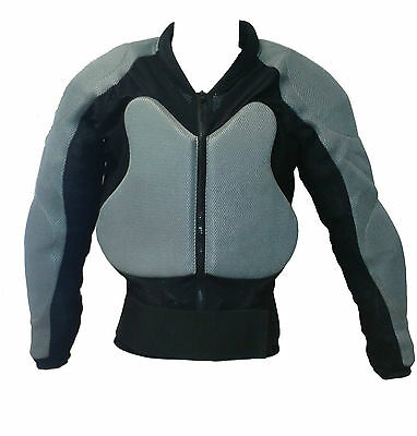 Body Armour Motorcycle Motorbike Motocross spine Protector Guard Jacket Summer
