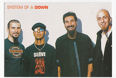 SYSTEM OF A DOWN carte postale n° 1284 S.O.A.D. SOAD