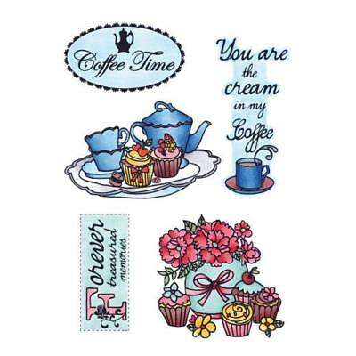 Marianne Design Clear Stamps - Coffee Time EWS2207