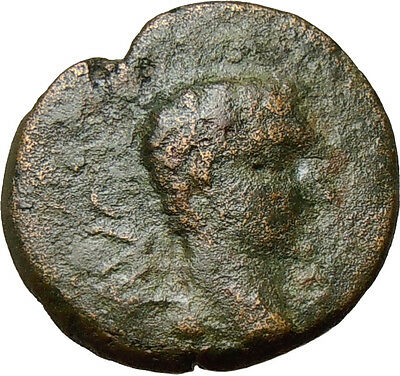 AUGUSTUS Macedon Philippi Two Colonists with Oxen Authentic Ancient Roman 27BC