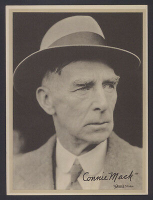 1936 R311 National Chicle Leather Premium~Connie Mack~Philadelphia A's Athletics
