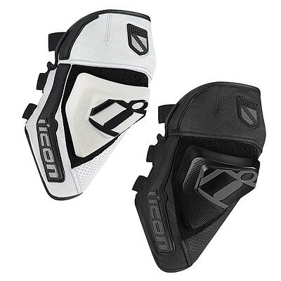 Icon Cloverleaf Knee Protector Motorcycle Motorbike Slider | All Sizes & Colours