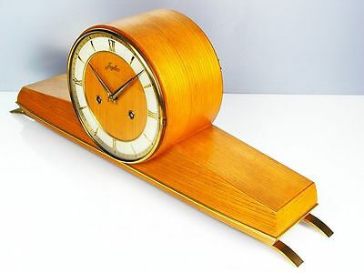 Beautiful Later Art Deco Junghans  Chiming Mantel Clock  From 50´s