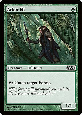*MRM* FRENCH 4x Elfe de la Charmille - Arbor Elf MTG Magic 2010-2015