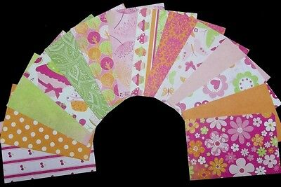 """""""SWEET TREATS!""""  Quality papers from Kaiser Crafts - 15cm x 10cm (6"""" x 4"""")"""