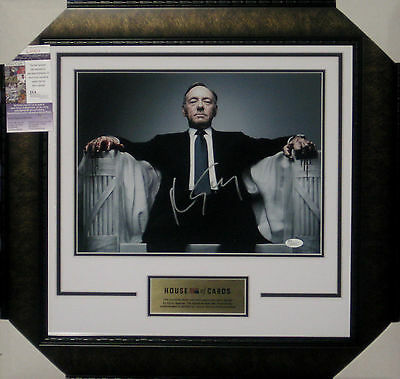 House Of Cards Kevin Spacey Signed Framed 11X14 Photo James Spence Jsa L51411
