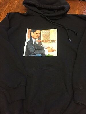 Donny Osmond What I Meant To Say Hoodie Hooded Sweatshirt Size XL Pre-Owned