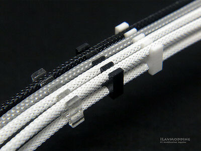 PC Cable Comb / Dresser for 3mm cables - White