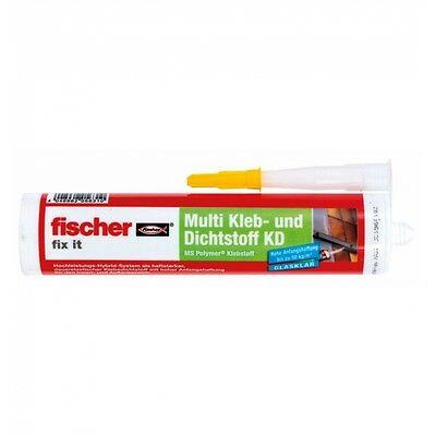 fischer Multikleber fix it KD-290 transparent