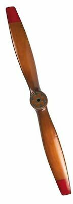 "Airplane WWI Vintage Propeller 47.25""  Decorative Wood  Model Aircraft Assembled"