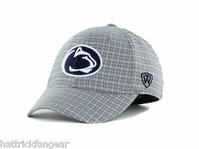 new style fb946 d5d8a Penn State Nittany Lions Top of the World Plaidee Stretch NCAA Cap Hat OSFM
