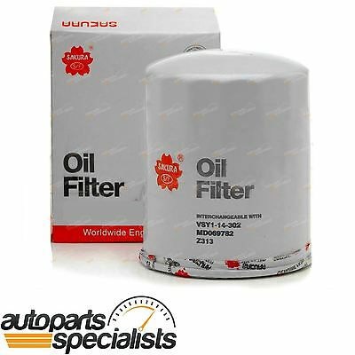 Diesel Oil Filter Sakura C8024 Mitsubishi 4D56 2.5L Alternate Cross Ref Z313