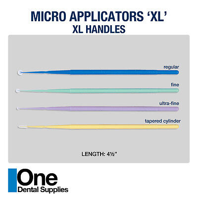 Dental Disposable Micro Applicators XL  Assorted Size 800 pcs