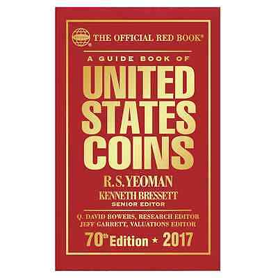 2017 RED BOOK - Guide Book of U.S. Coins - HARDCOVER - Coin Price Guide