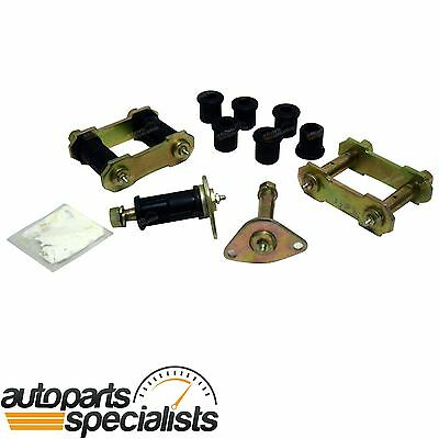 Greasable Rear Swing Shackle Polyurethane Bush Pin Kit Toyota HILUX 4x4 1979-97
