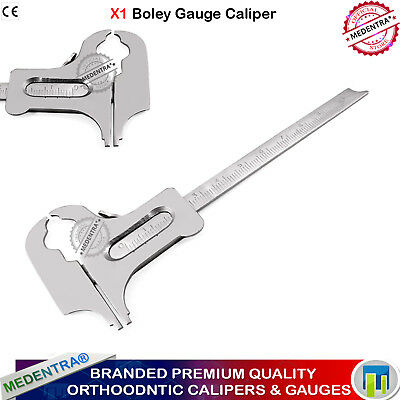 Vernier Caliper Laboratory Instruments Boley Dental Sliding Gauge Rubber Dam CE