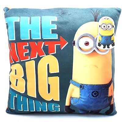 Official Despicable Me Minions Cushion Kids Playrooom Bedroom Square