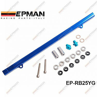 EPMAN COMBUSTIBLE VÍAS KITS TURBOCHARGE COCHE Apto NISSAN RB25DET R32 R33 RB25