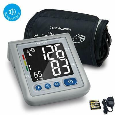MIBEST Blood Pressure Monitor with Talking Function - FDA Approved