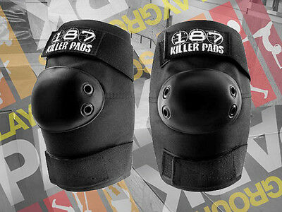 187 Killer Pads - Elbow ( Skateboard / Scooter / BMX / Derby / Protective)