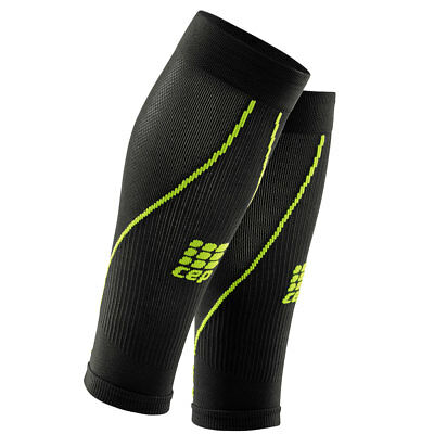CEP pro+ Calf Sleeves 2.0 Men black/green (WS55L0). Neu!