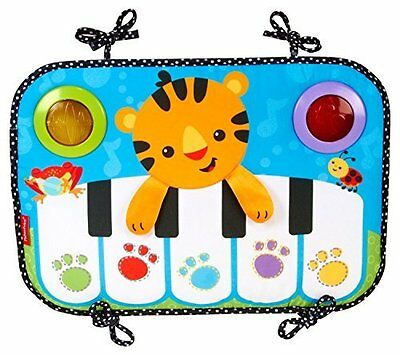 Fisher-Price Kick and Play Piano BABY MUSIC TOY, Toddler PRETEND TOY, CCW02