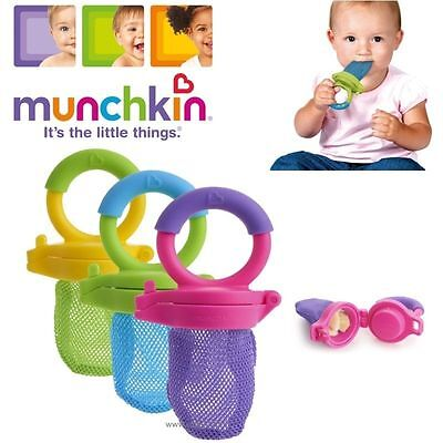 2 x Baby Weaning Safety Fresh Food Mesh Holder Feeder Ideal for Fruit Vegetables