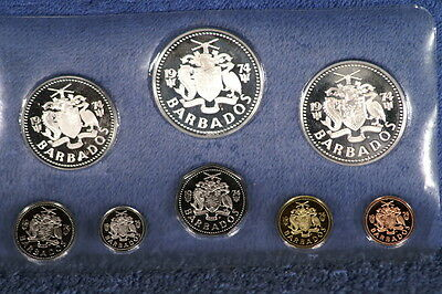 1974 Barbados 8 Coin Proof Set