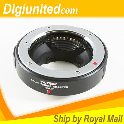 Viltrox JY-43F Auto Focus AF Adapter for Four Thirds lens to Micro 4/3 M43 MMF-1