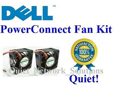 Quiet Version Dell PowerConnect 3548P Fan 1xFan Best for Home Networking! M727K